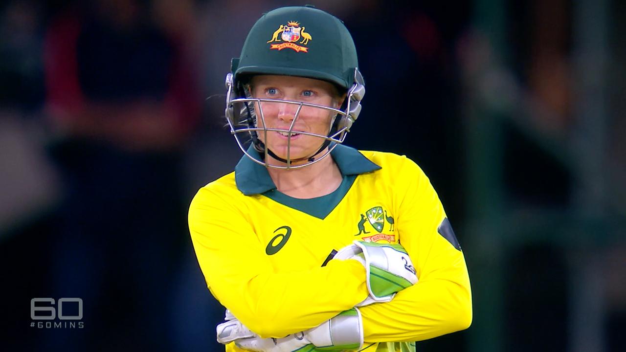 Healey at the bat for Australia