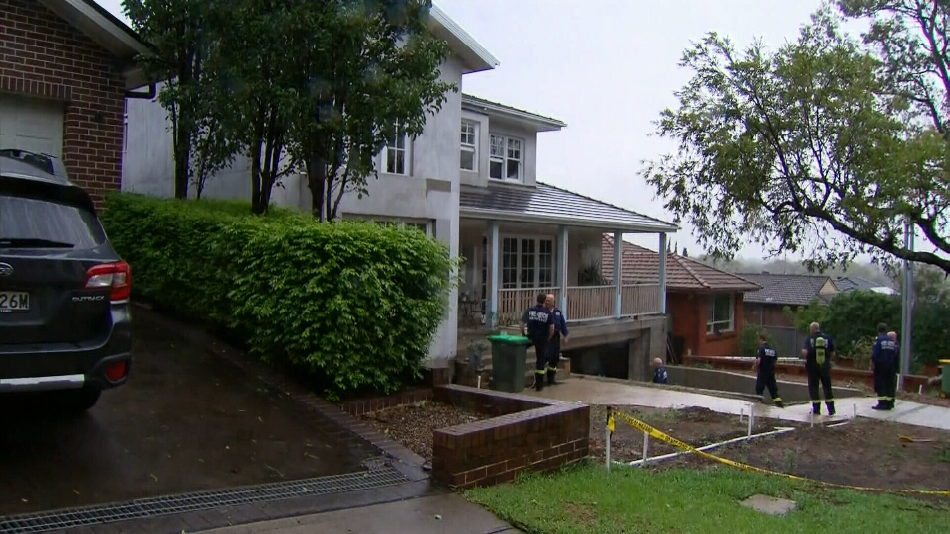 A mother and four boys have been taken to hospital with carbon monoxide poisoning.
