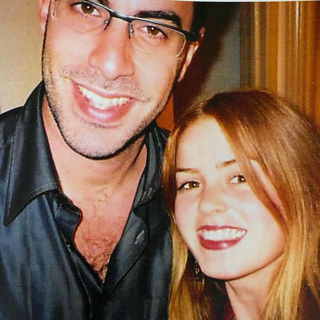 Sacha Baron Cohen Isla Fisher