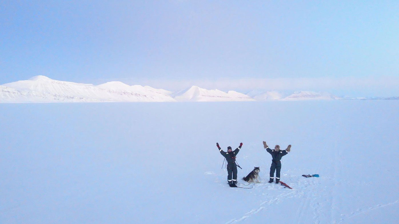 Hilde Falun Strom and Sunniva Sorby are stuck on a remote island in Arctic Norway.