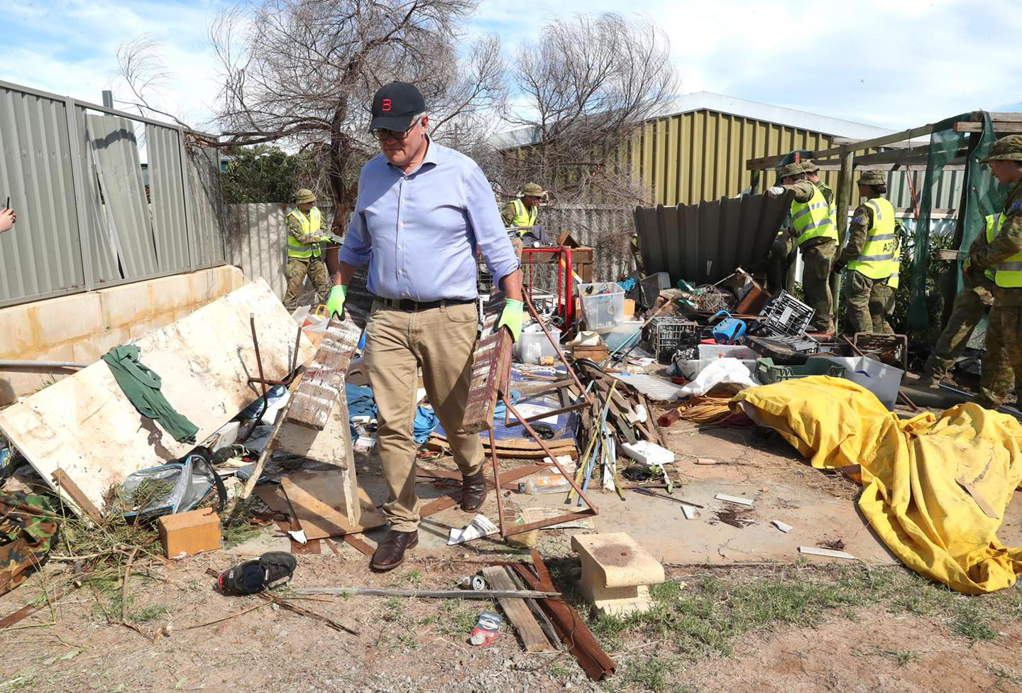 'Miracle' there was no loss of life in WA cyclone