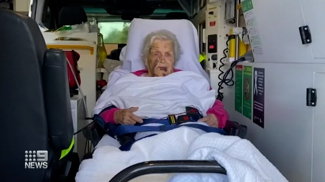 Elderly woman stuck in ambulance for hours outside Adelaide hospital