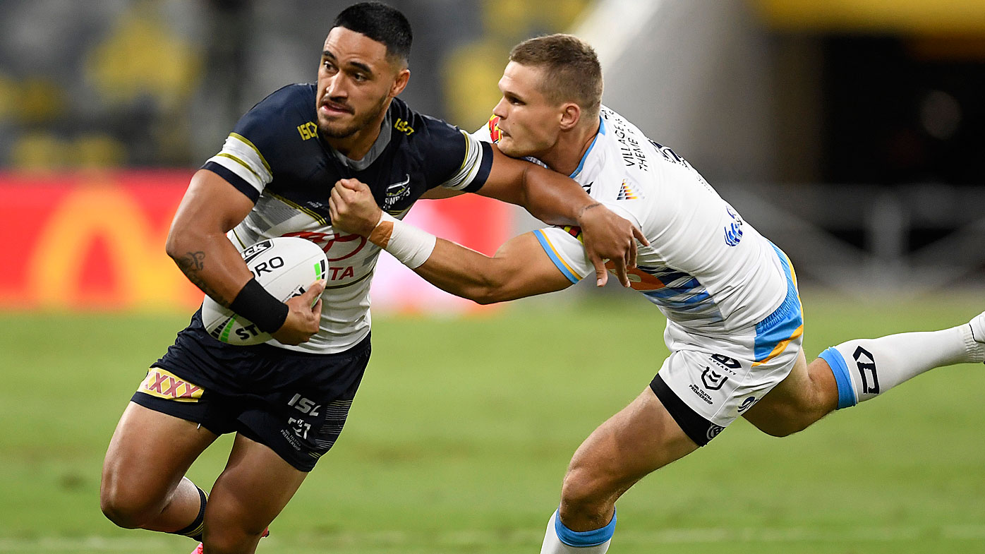 Valentine Holmes of the Cowboys