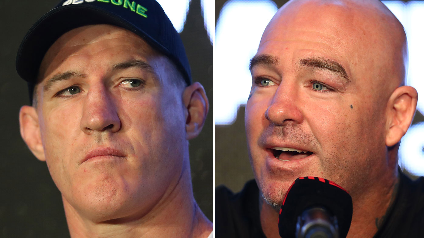 Paul Gallen is preparing for his clash with Lucas Browne. (Getty)