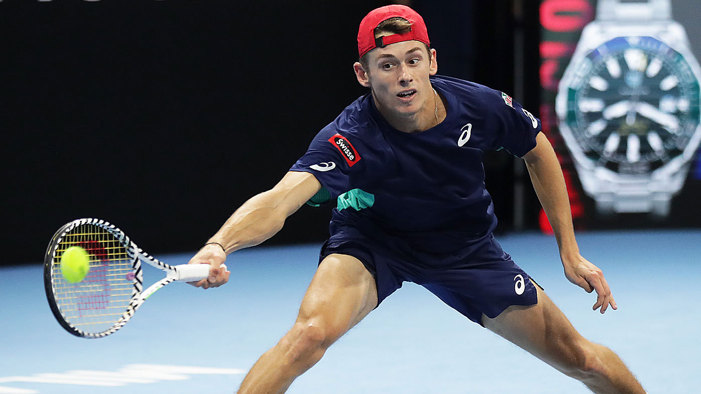 De Minaur beats Tiafoe to reach 2nd successive final