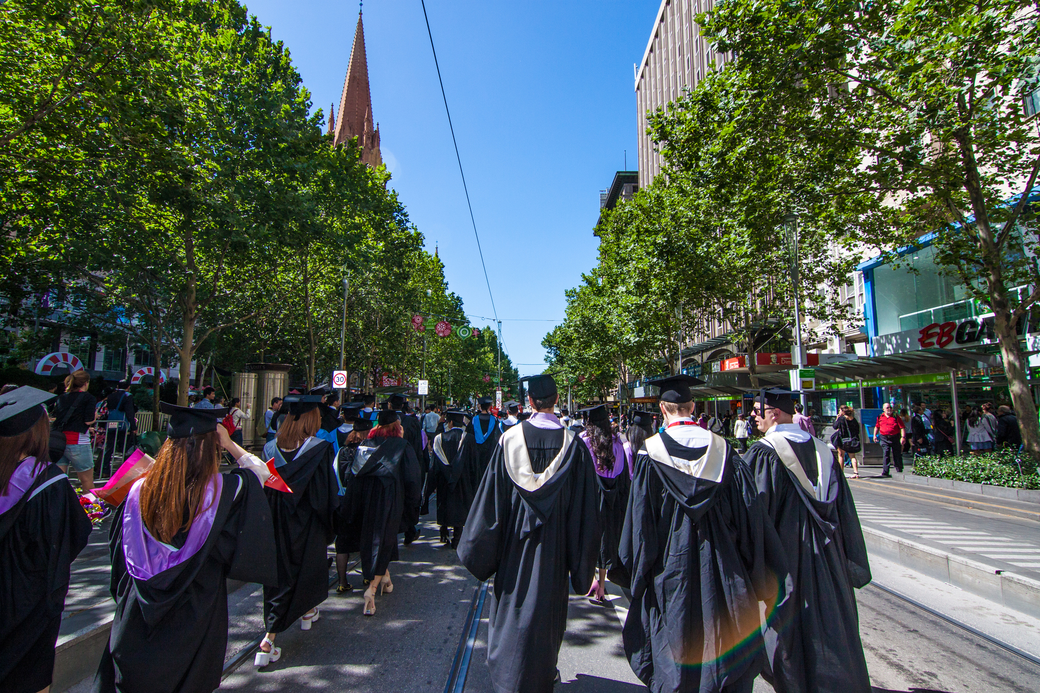 RMIT university graduation day December 2014