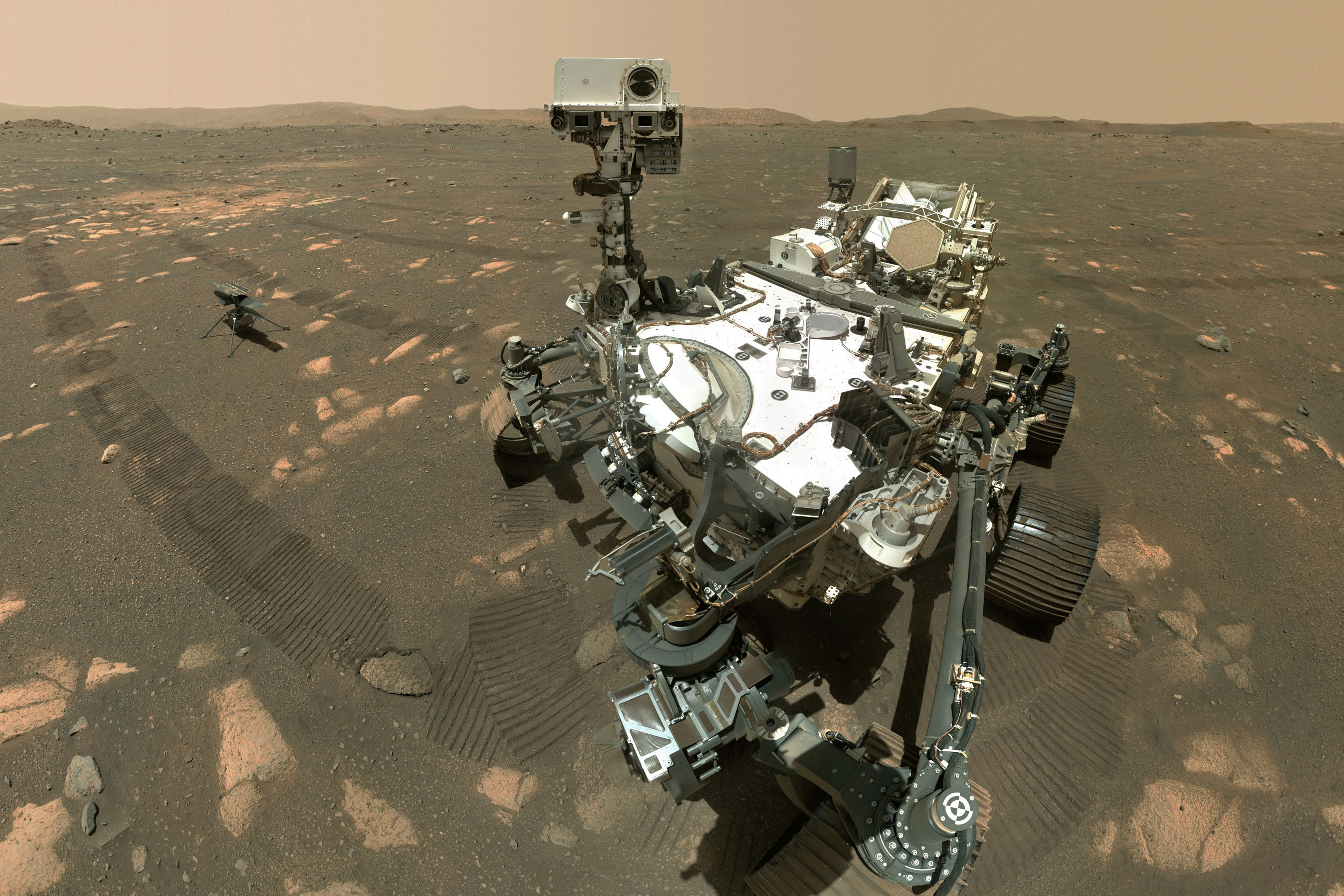 Perseverance arrived in February at Mars' Jezero Crater to look for rocks that might hold evidence of ancient life.