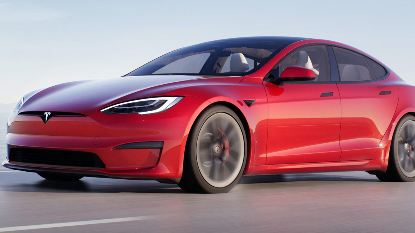 The Model S now comes with Tesla's Plaid Mode, offering faster acceleration that can take the car from zero to 97 kilometres per hour in just two seconds.