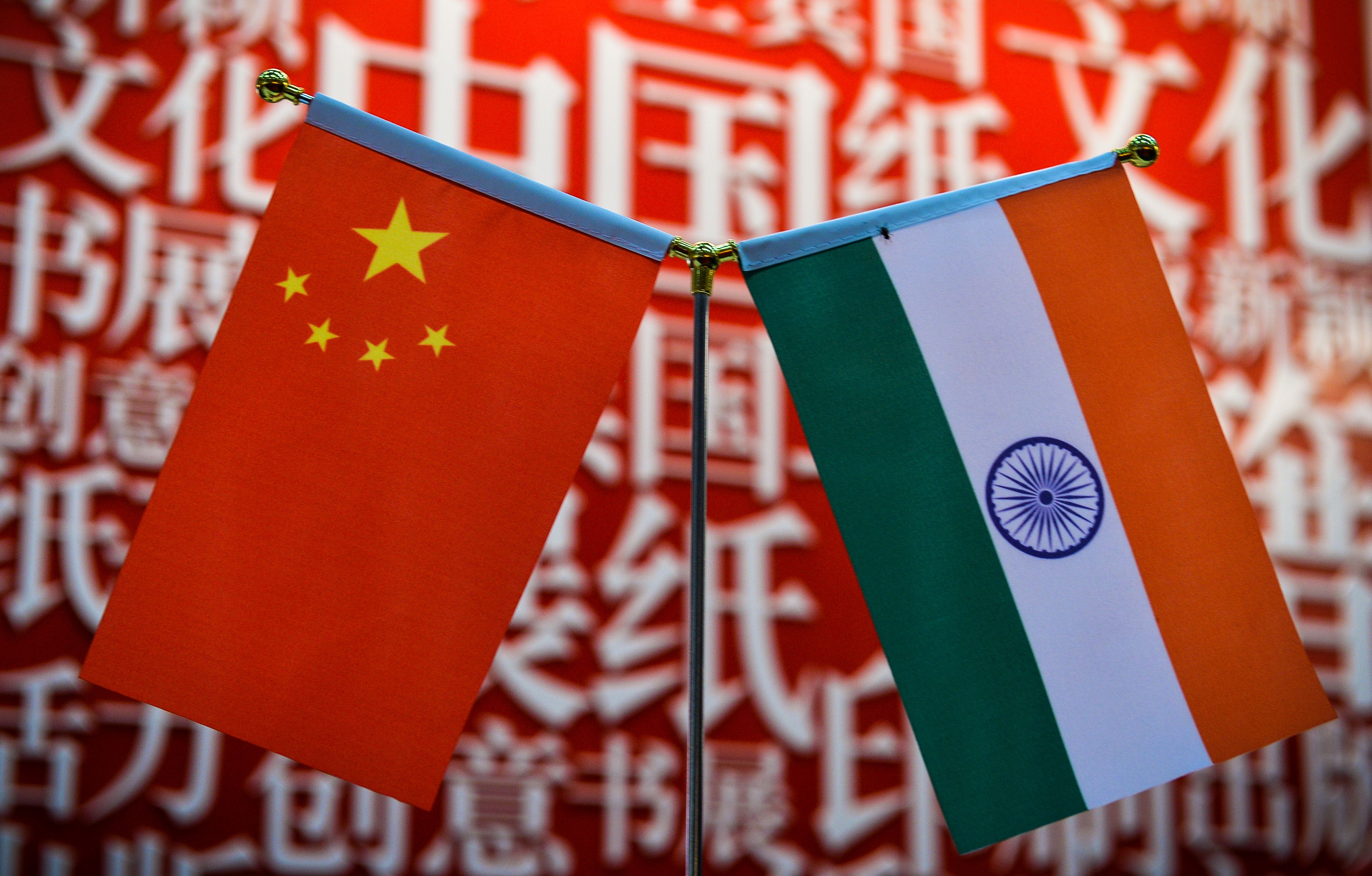 Chinese troops deployed amid India border tensions
