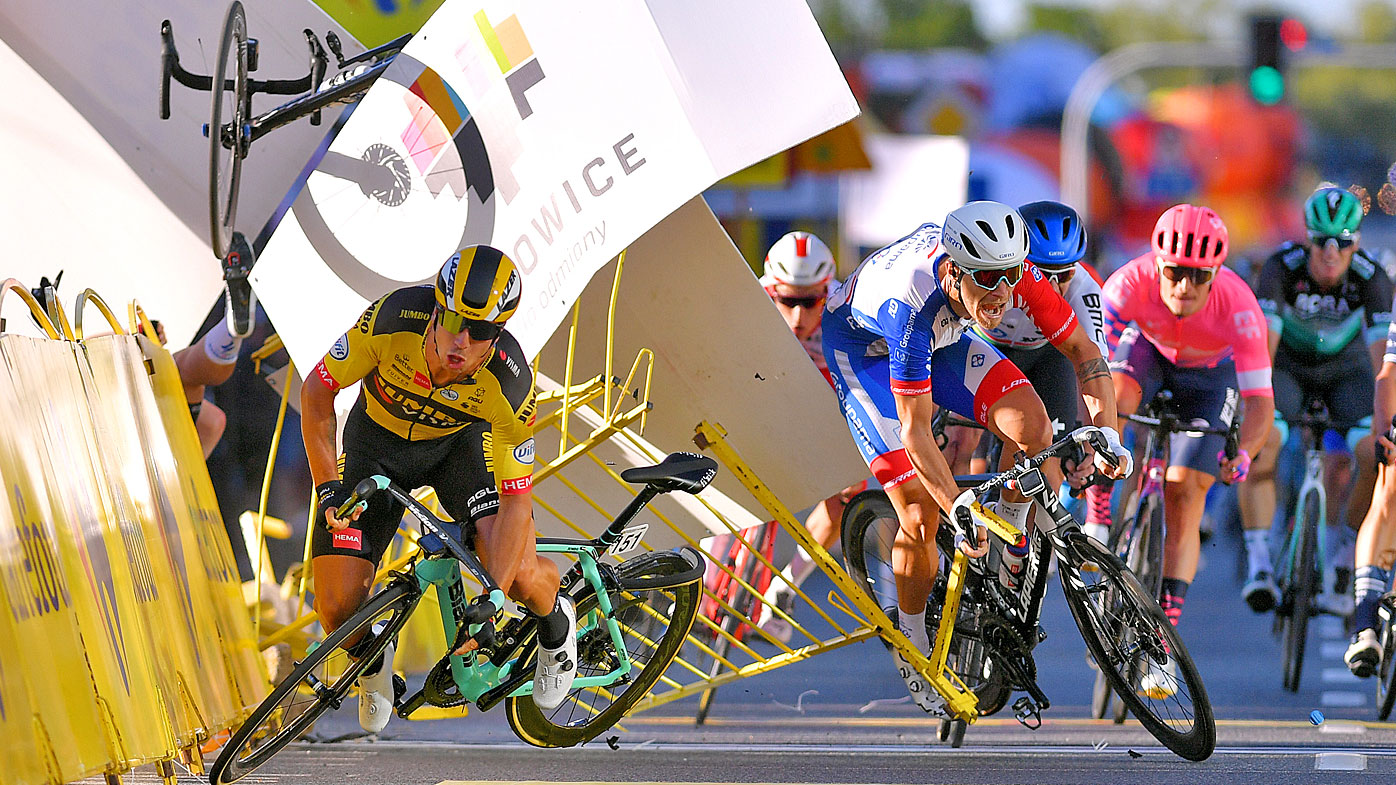 Dylan Groenewegen foi banido por nove meses por causar acidente no Tour of Poland