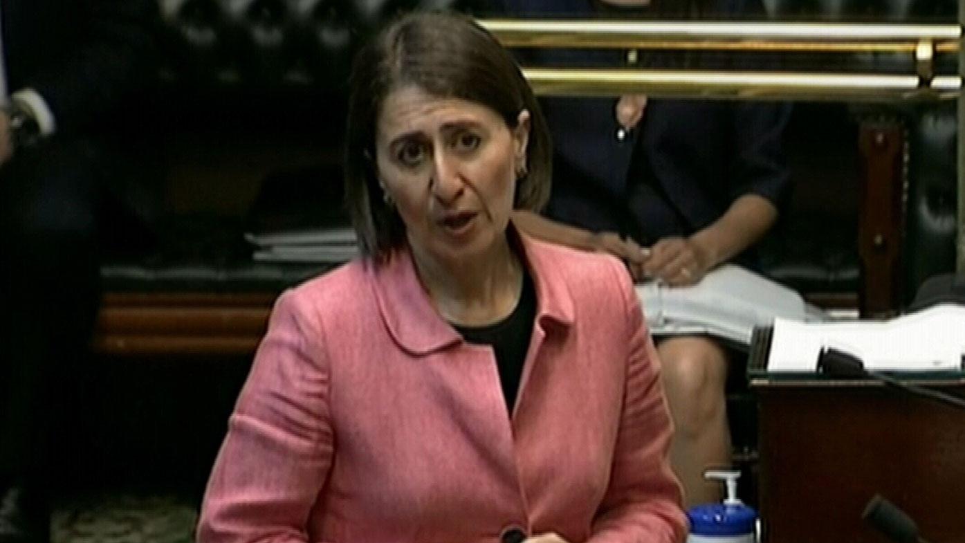 Gladys Berejiklian during Question Time.