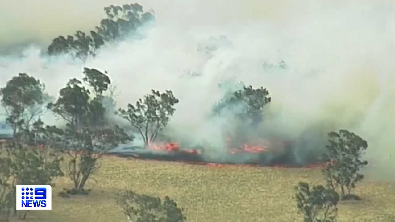 B;ackford fire approaches Lucindale