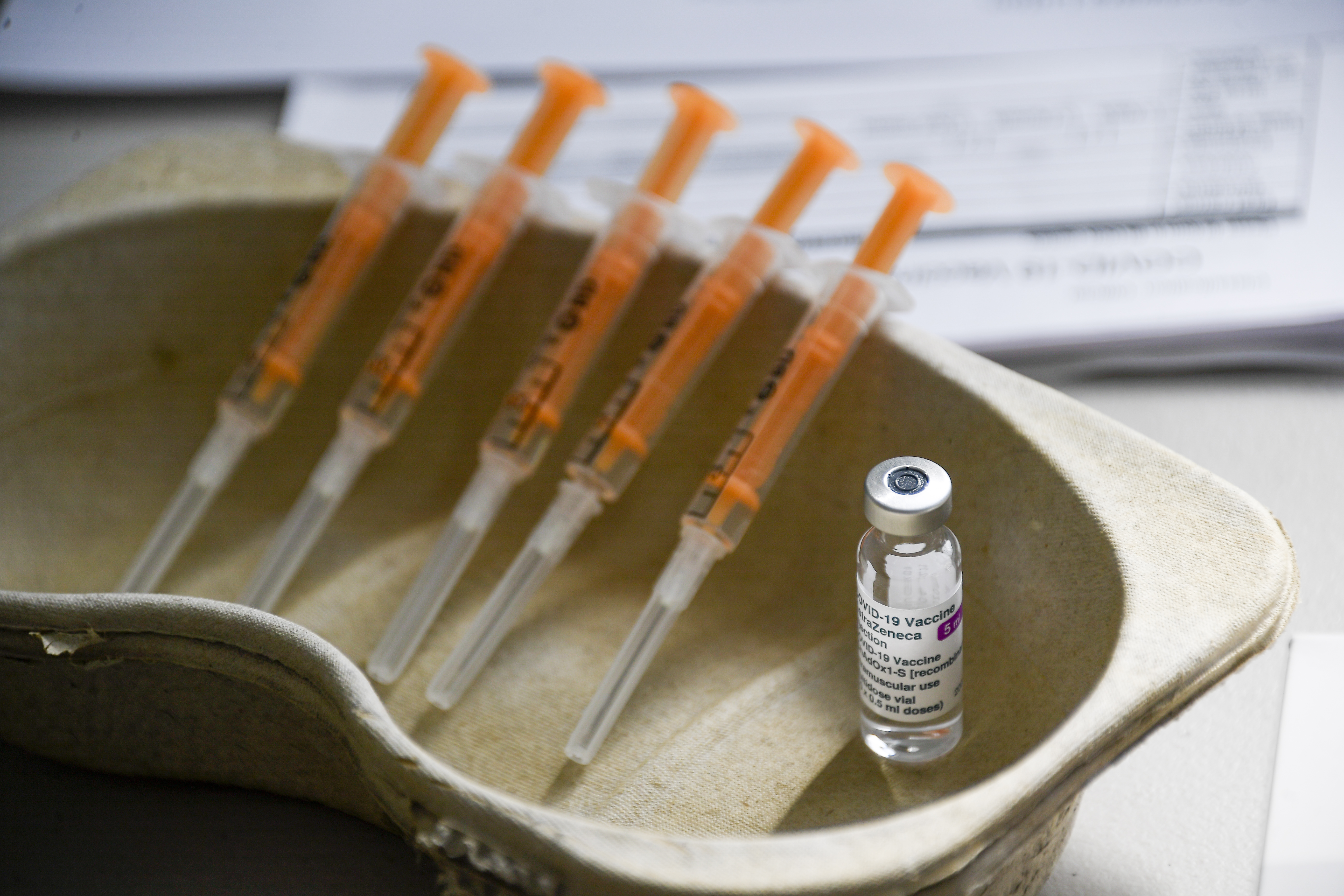 Rare cases of blood clotting have been linked to the AstraZeneca vaccine.