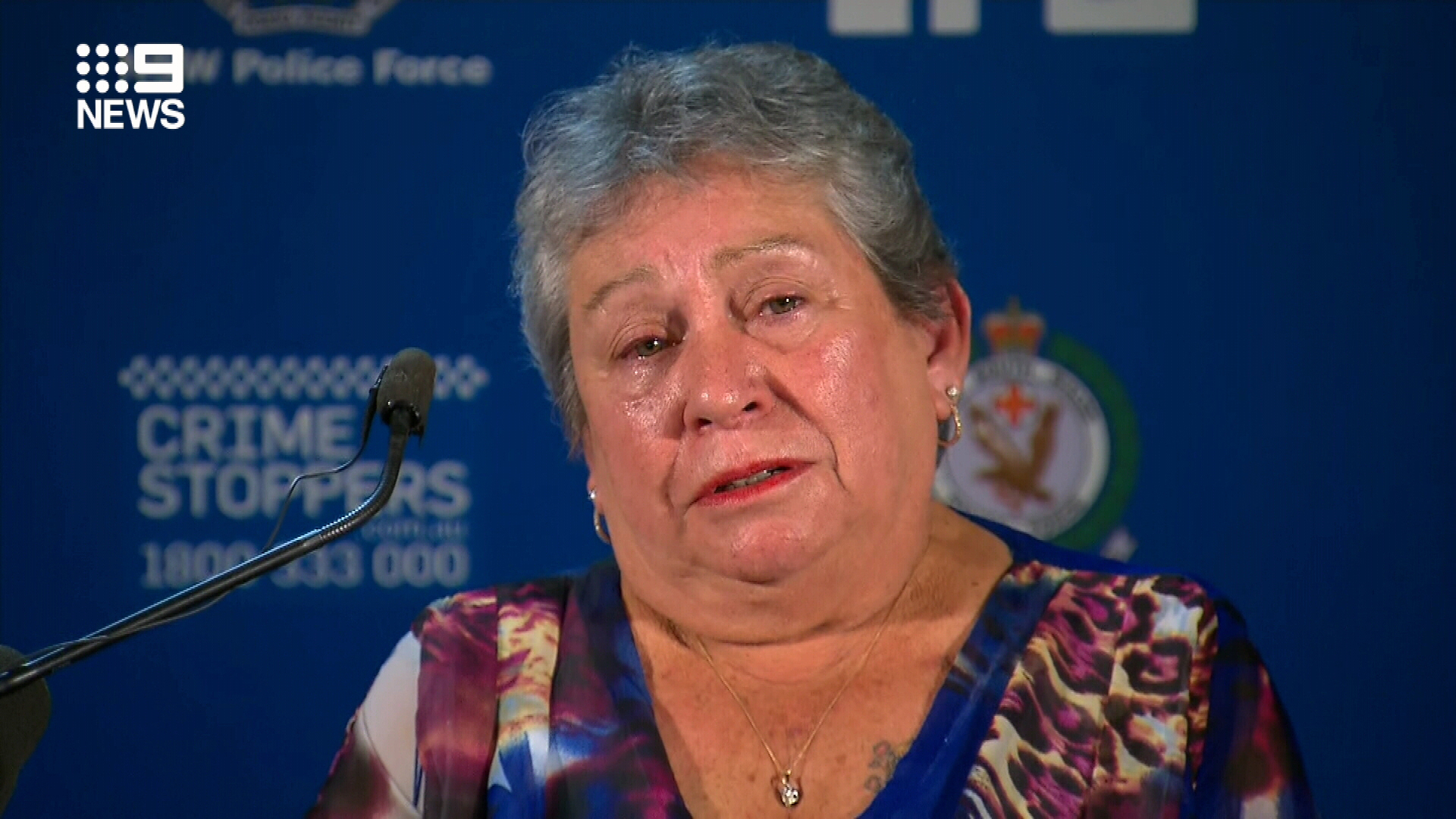 Lorraine Bright today begged someone to come forward with information that could finally help NSW Police catch Michelle's killer.
