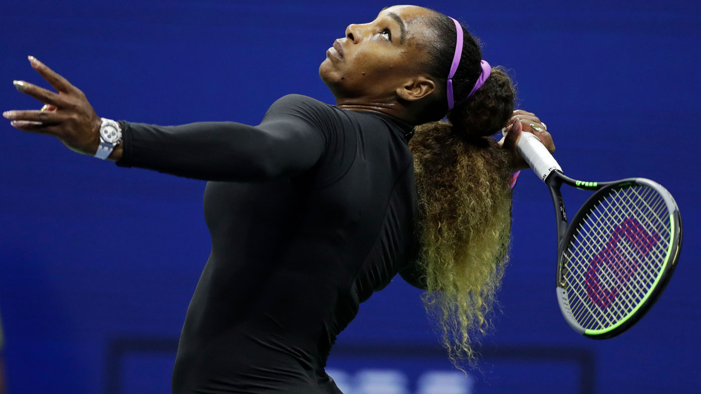 Serena Williams storms into the US Open final