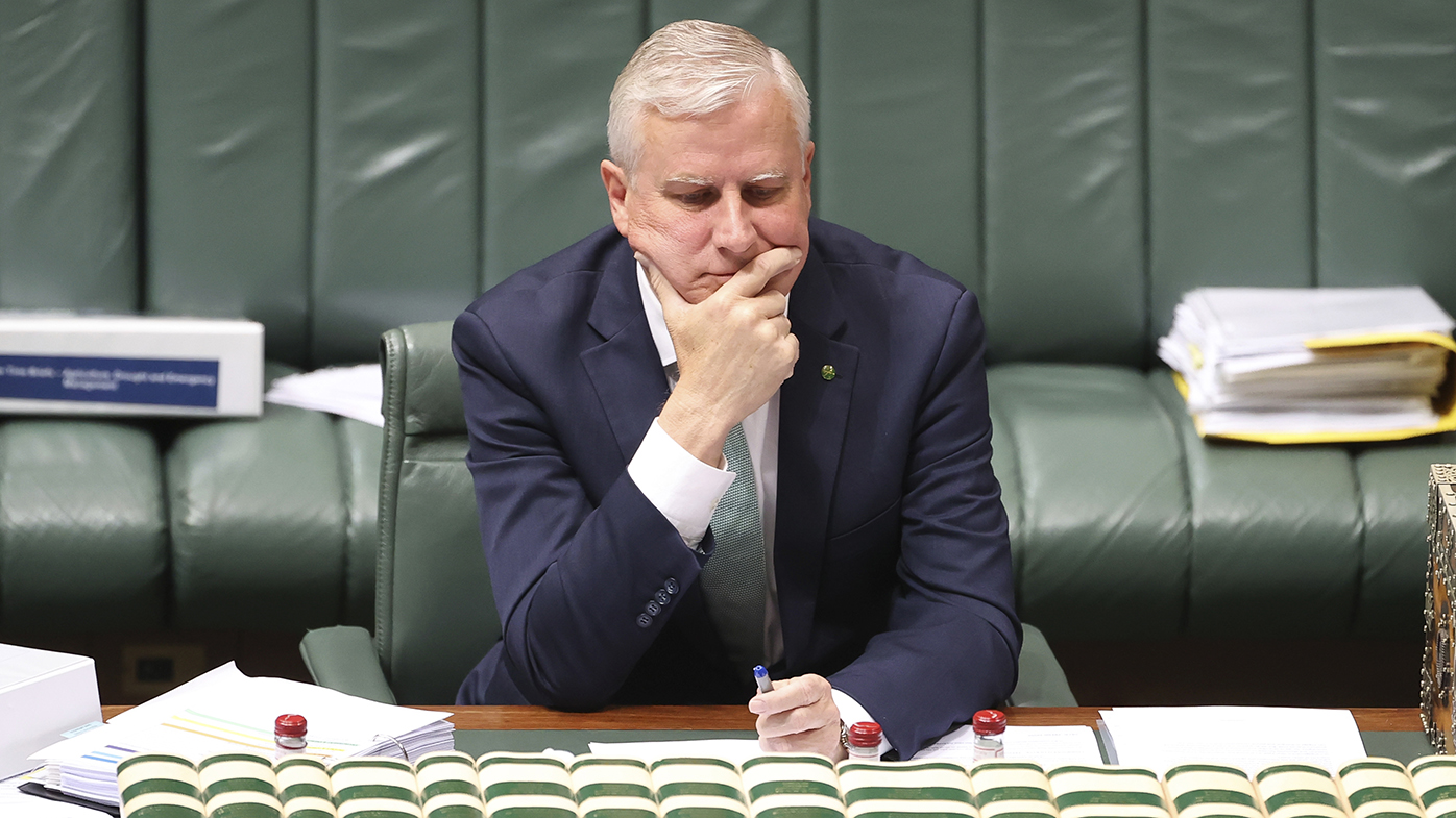 'That's democracy': Michael McCormack responds to leadership spill