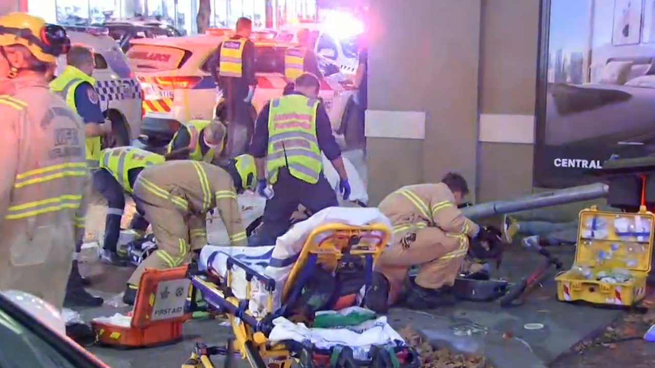 'Everything went silent': Truck hits pedestrians causing 'absolute carnage'