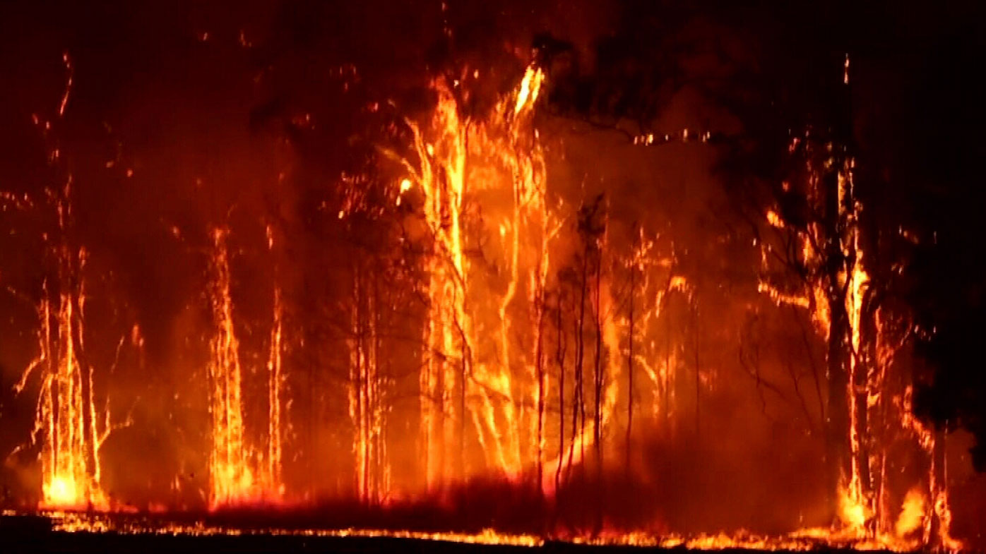 Multiple emergency bushfires are raging across NSW.