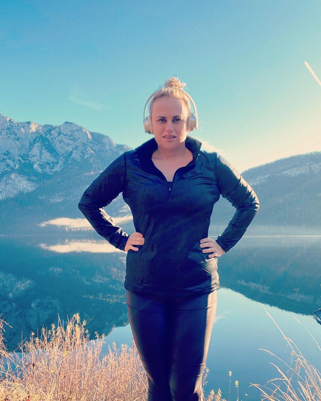 Rebel Wilson, wellness, health retreat, Austria