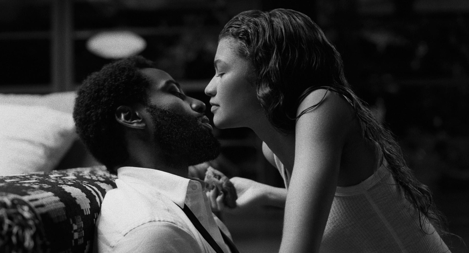 John David Washington and Zendaya play Malcolm & Marie.