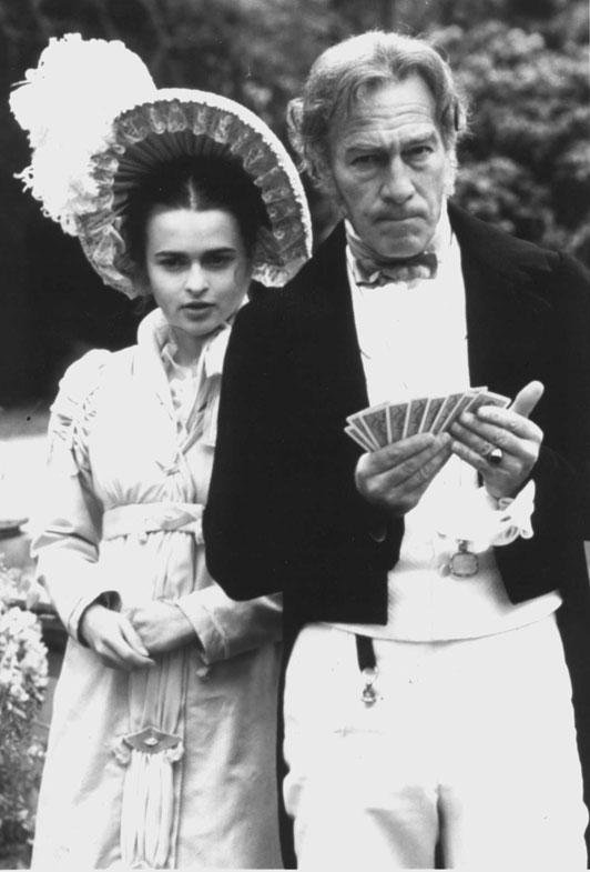 A Hazard Of Hearts starring Helena Bonham Carter (left) and Christopher Plummer (right) March 5, 1989.