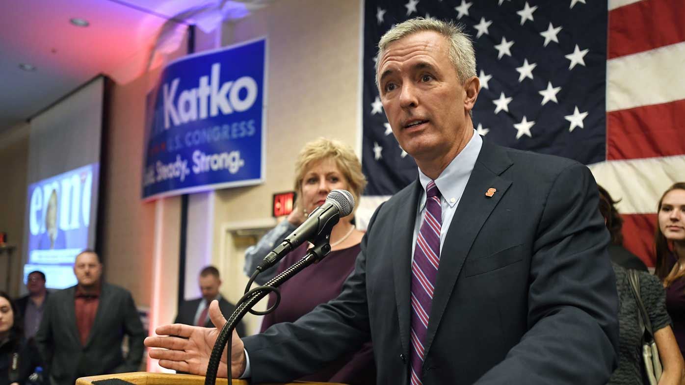 Republican congressman John Katko will vote to impeach Donald Trump.