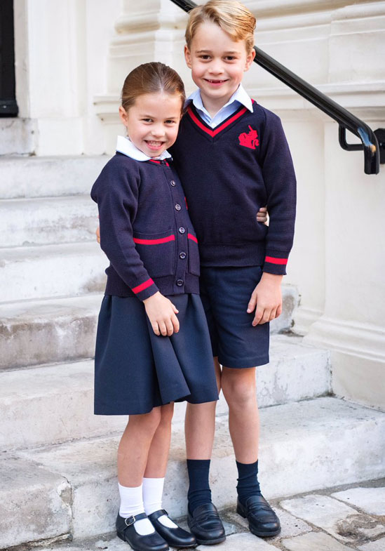 Students at the royals' school have been isolated after returning from Italy.