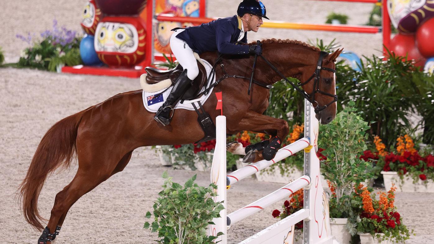 Andrew Hoy becomes Australia's oldest ever medallist