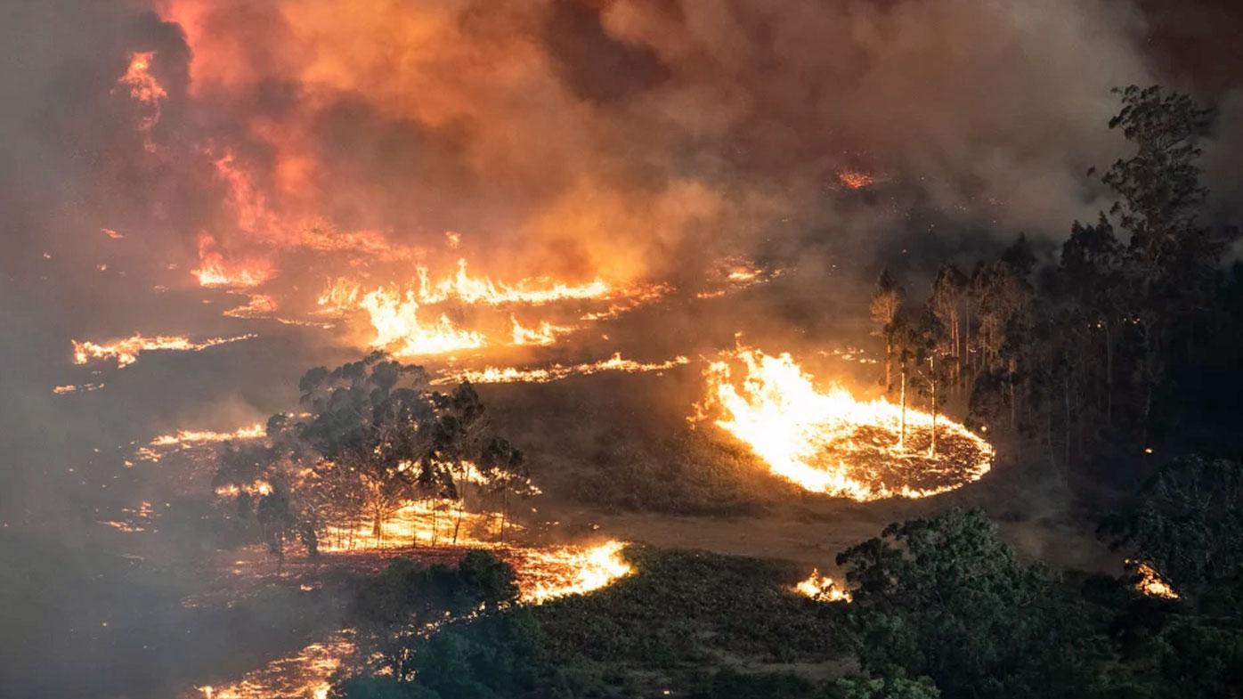 East Gippsland fire December 31