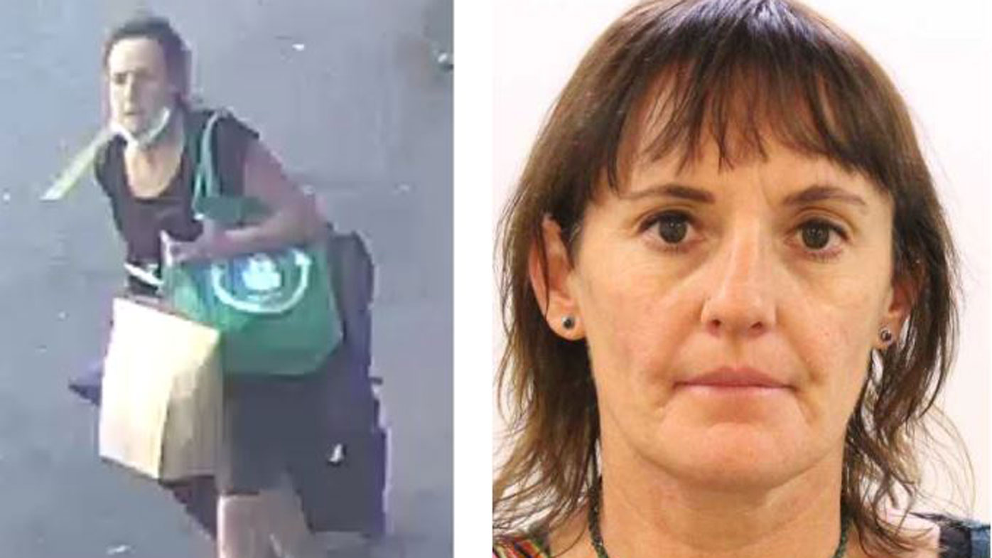 Jenny D'ubois escaped Perth hotel quarantine after arriving from Europe.