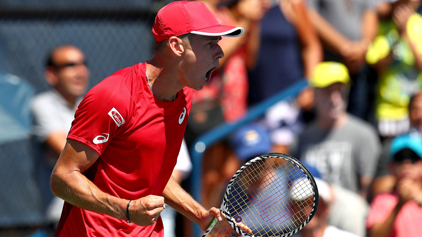 Kyrgios advances while ATP considers punishment