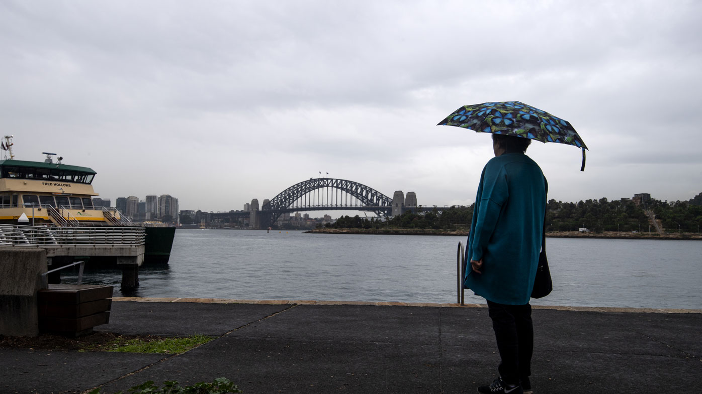 Patchy rain and storms across southeastern Australia