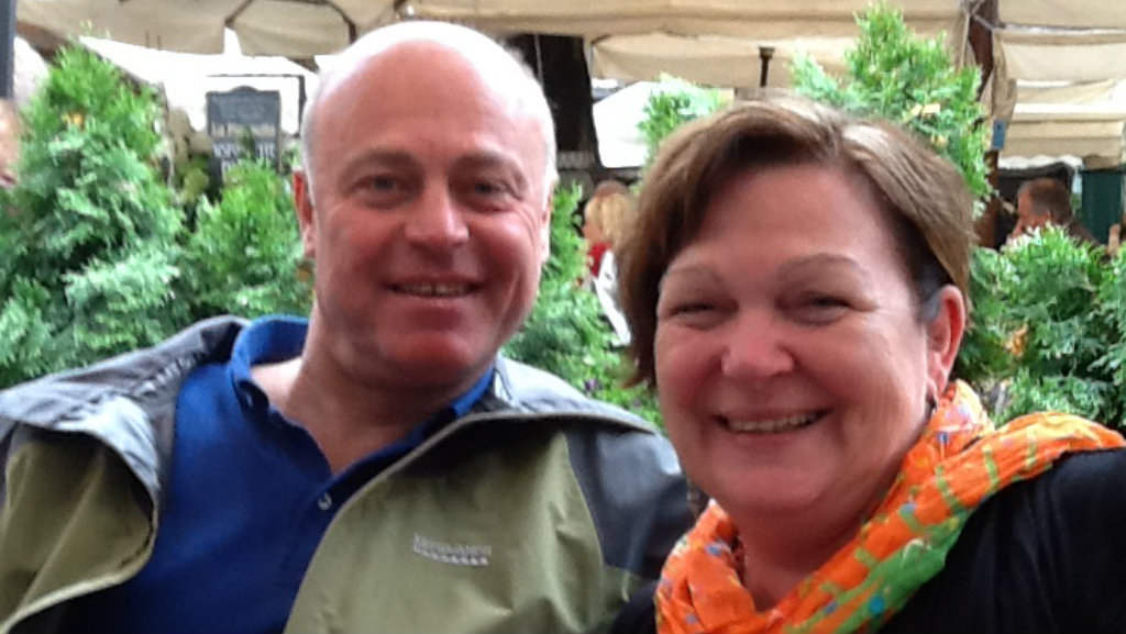 Albert and Marie Rizk, who died on flight MH17. Picture: Supplied