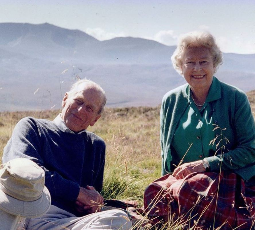 Queen shares never before seen photo of her and Prince Philip