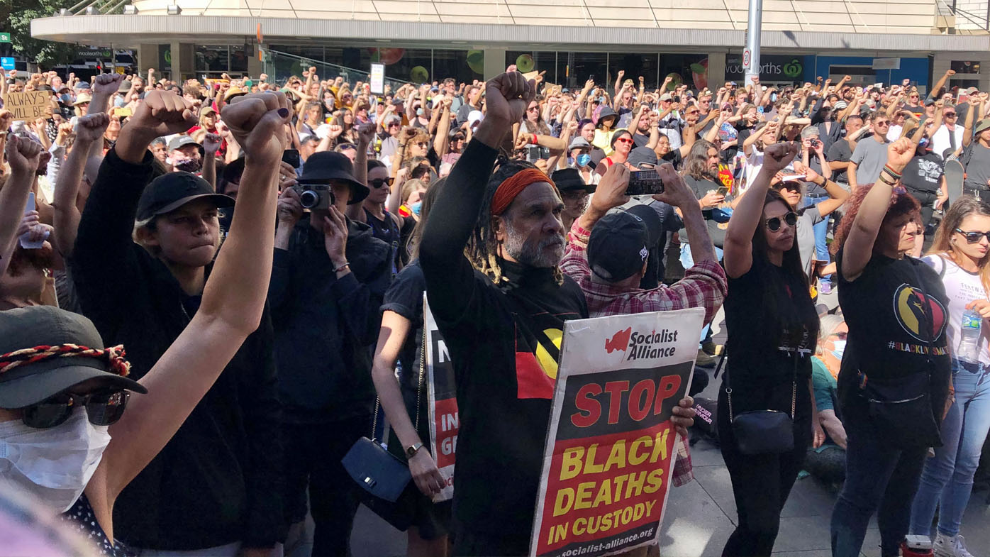Protests around Australia to stop Indigenous deaths in custody