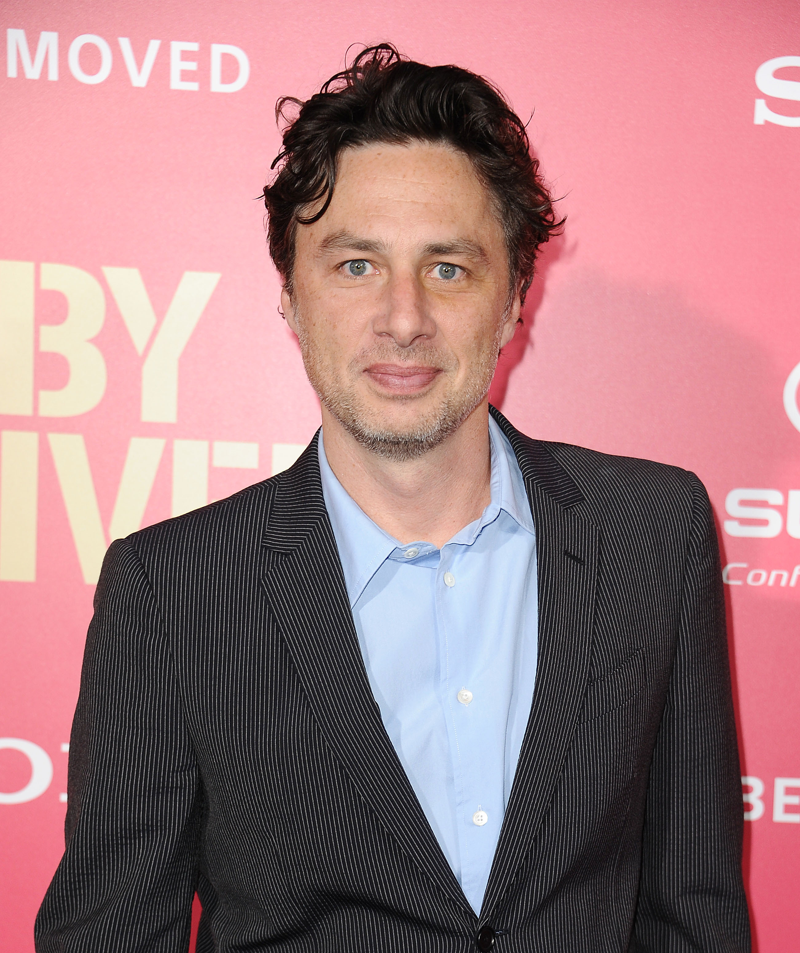 Zach Braff attends the premiere of Baby Driver at Ace Hotel on June 14, 2017 in Los Angeles, California.