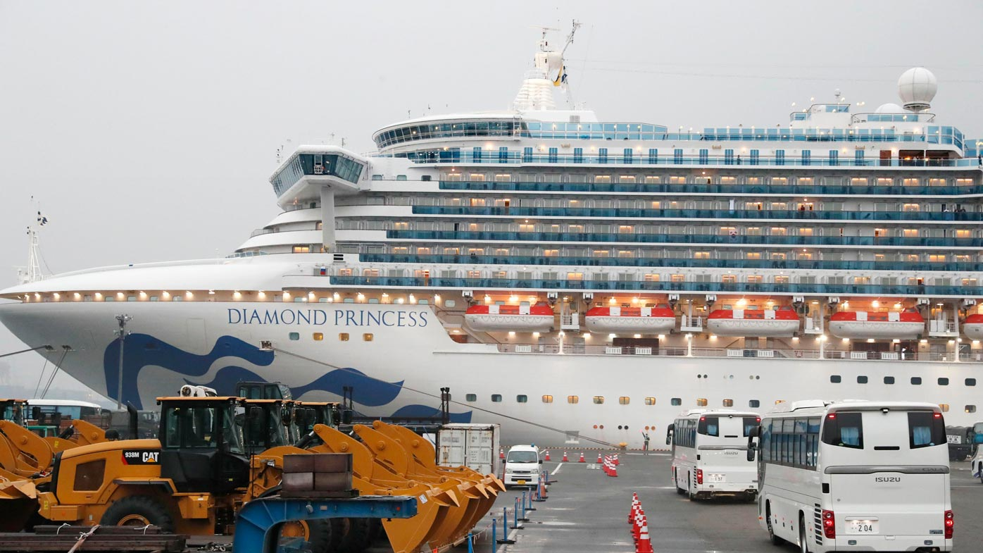 Plan to rescue 200 Aussies on coronavirus cruise ship