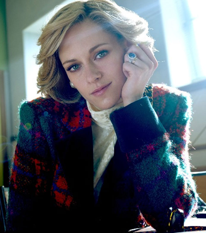 Kristen Stewart as Princess Diana in the movie Spencer