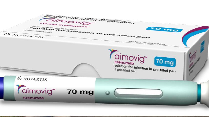 New migraine drug, Aimovig