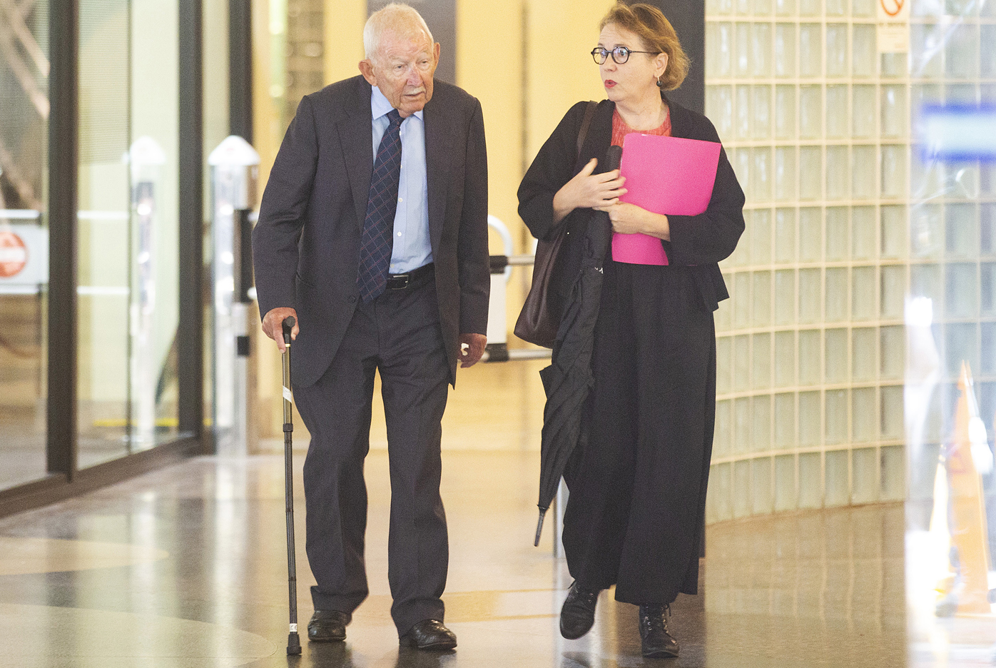 The 82-year-old was arrested at Sydney International Airport in December.