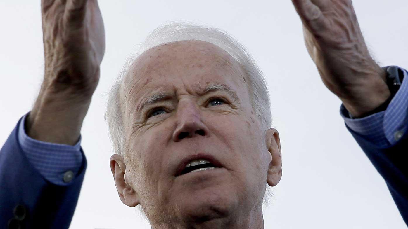 Joe Biden is the favourite to take on Donald Trump in November.