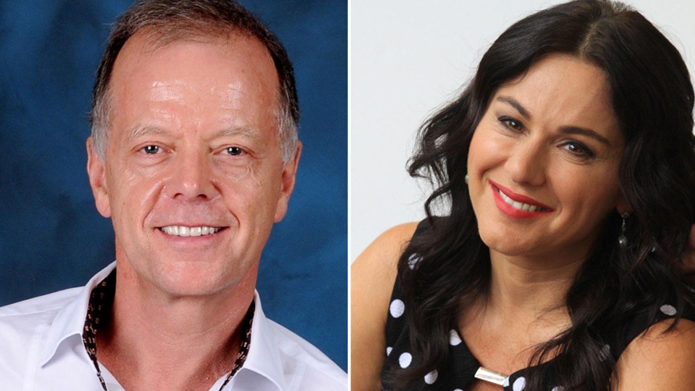 Peter Hunt and Tania De Jong.