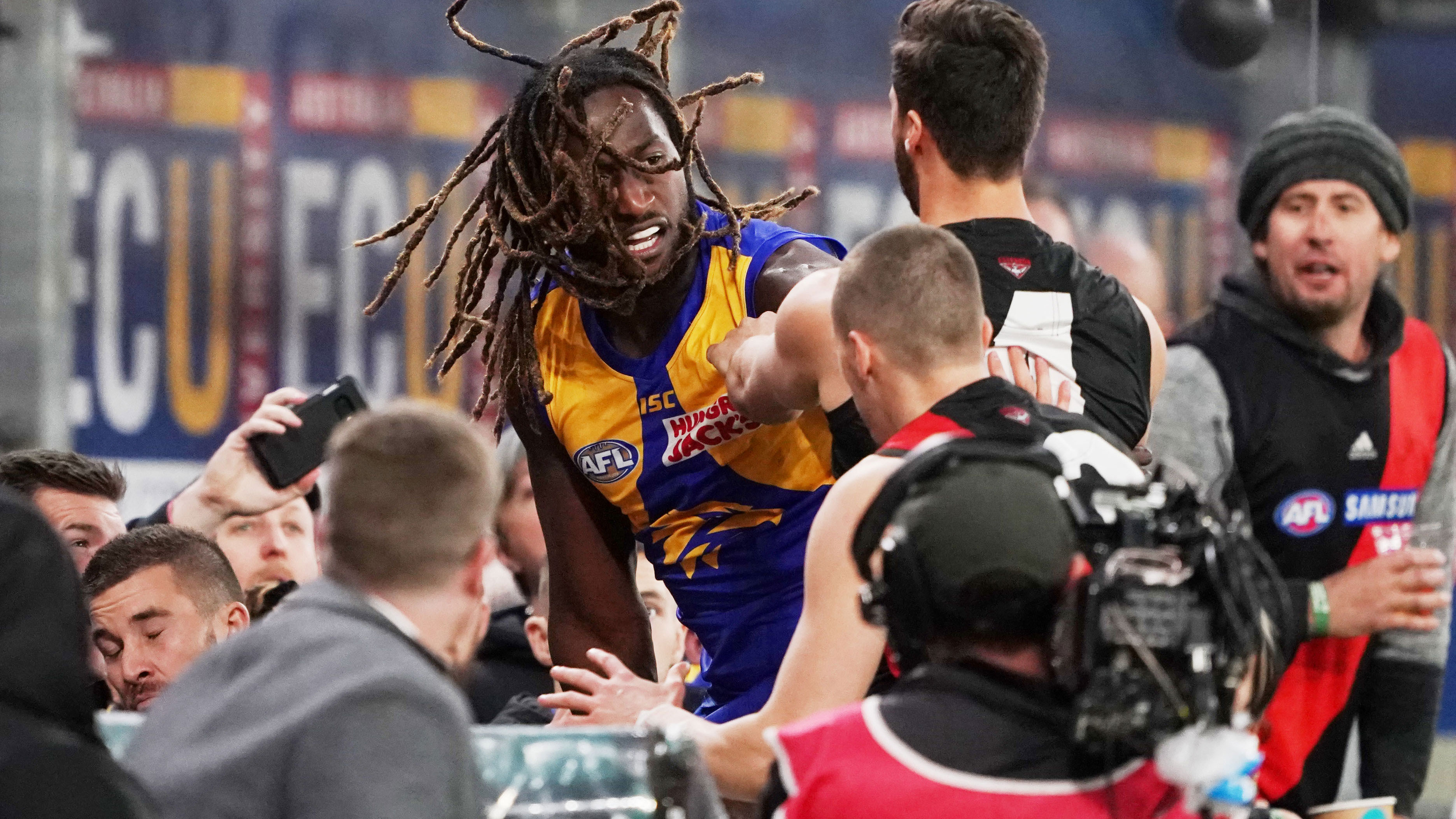 Nic Naitanui dominates on AFL return as West Coast Eagles