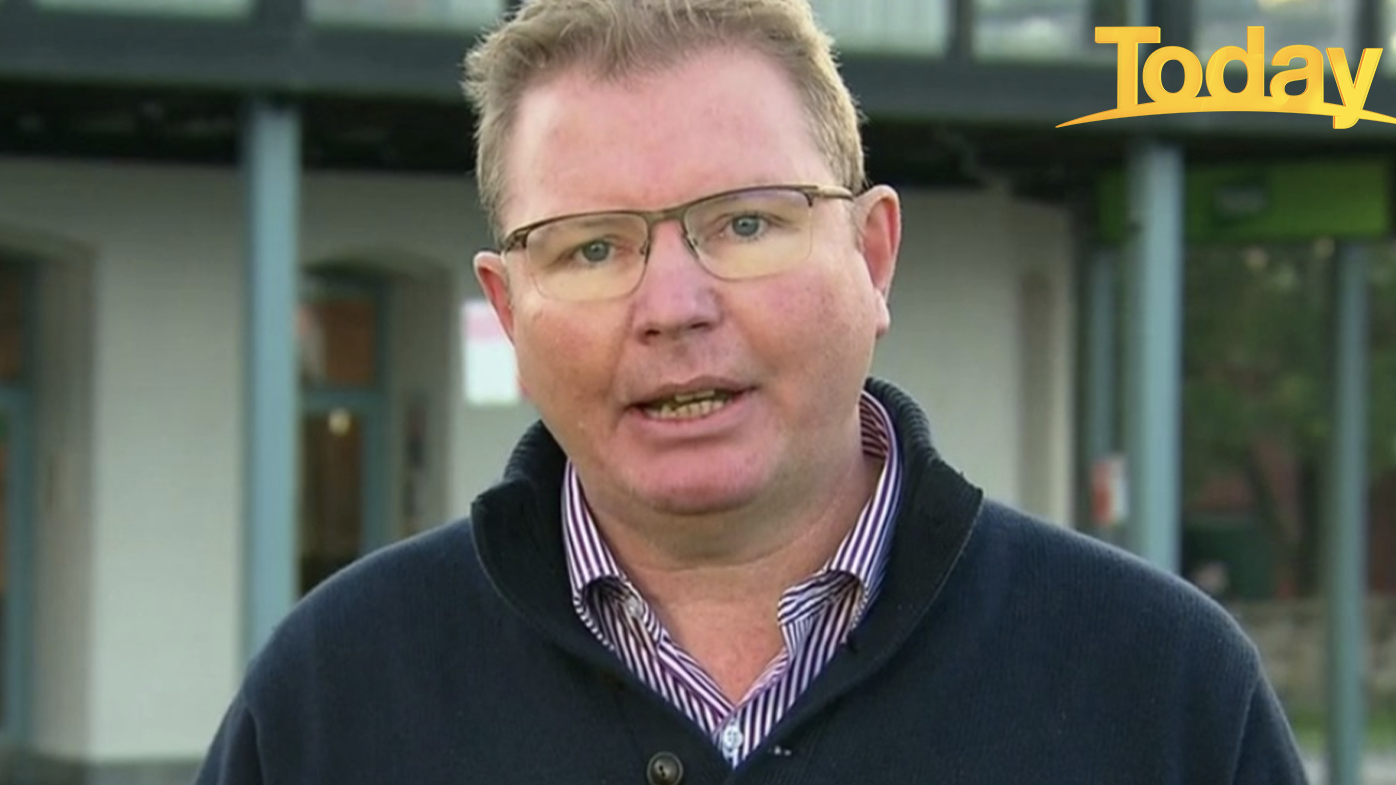 Craig Laundy told Today he's having trouble finding staff to fill shifts.