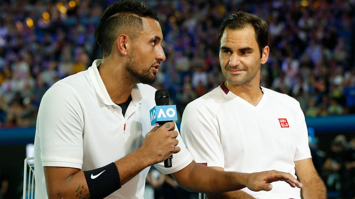 Nick Kyrgios, Roger Federer