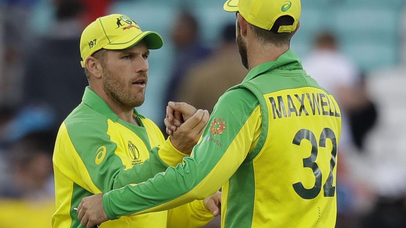 Australian team, Cricket World Cup news   Aaron Finch, Glenn Maxwell backing