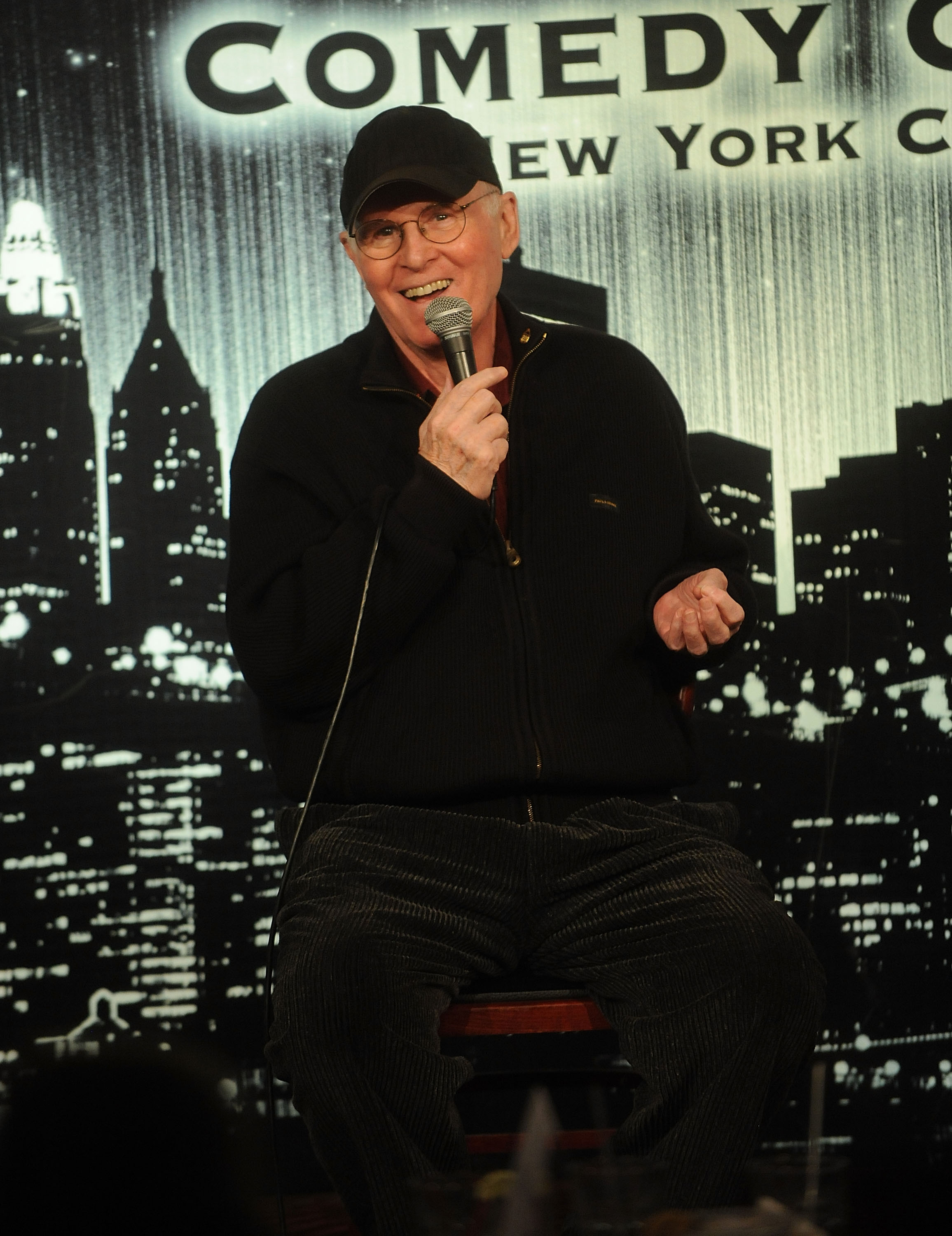 Comic Charles Grodin attedns the Homelessness Isn't Funny, But We Are Benefit at Gotham Comedy Club on October 6, 2015 in New York City