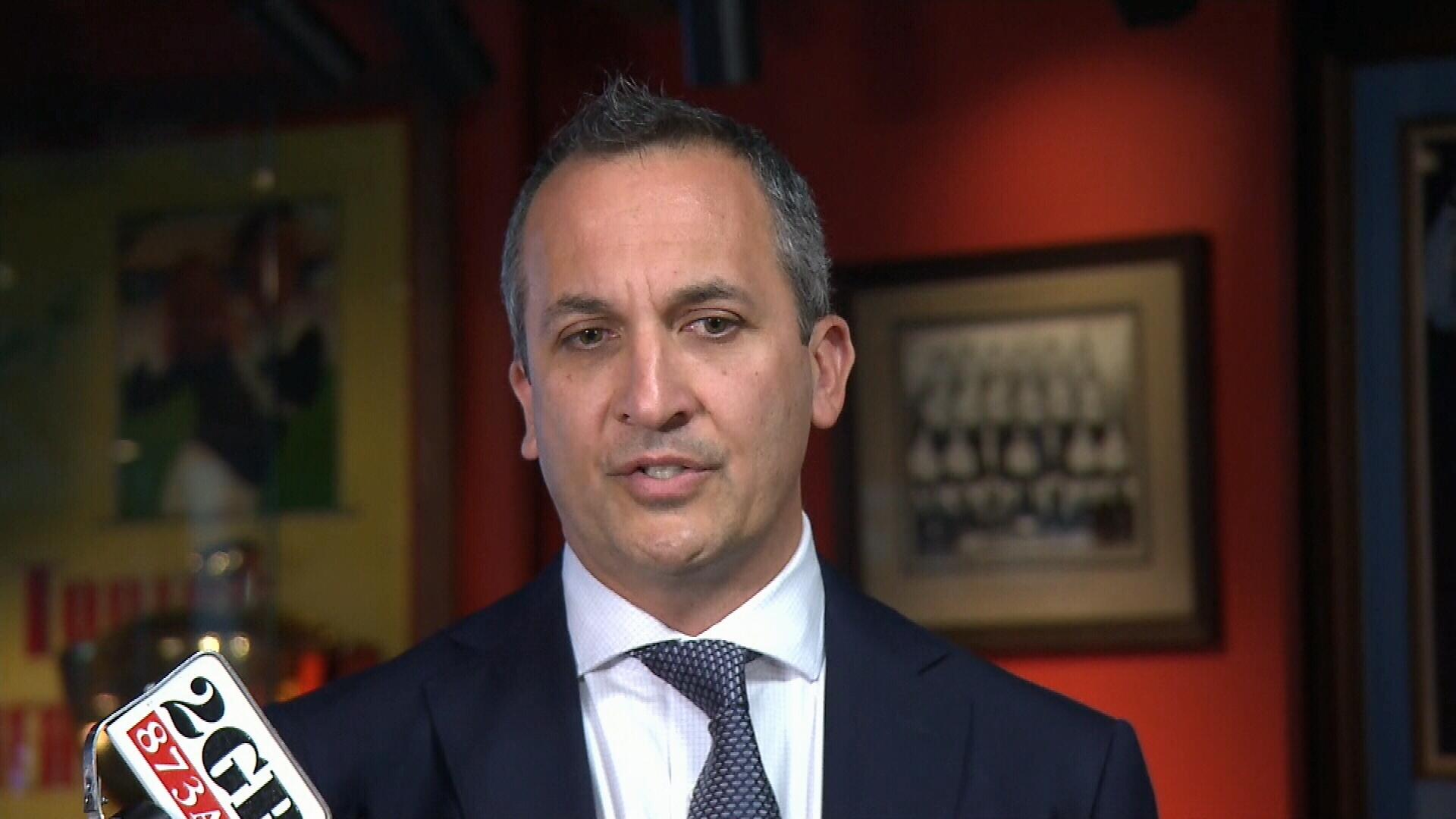 NRL CEO Andrew Abdo