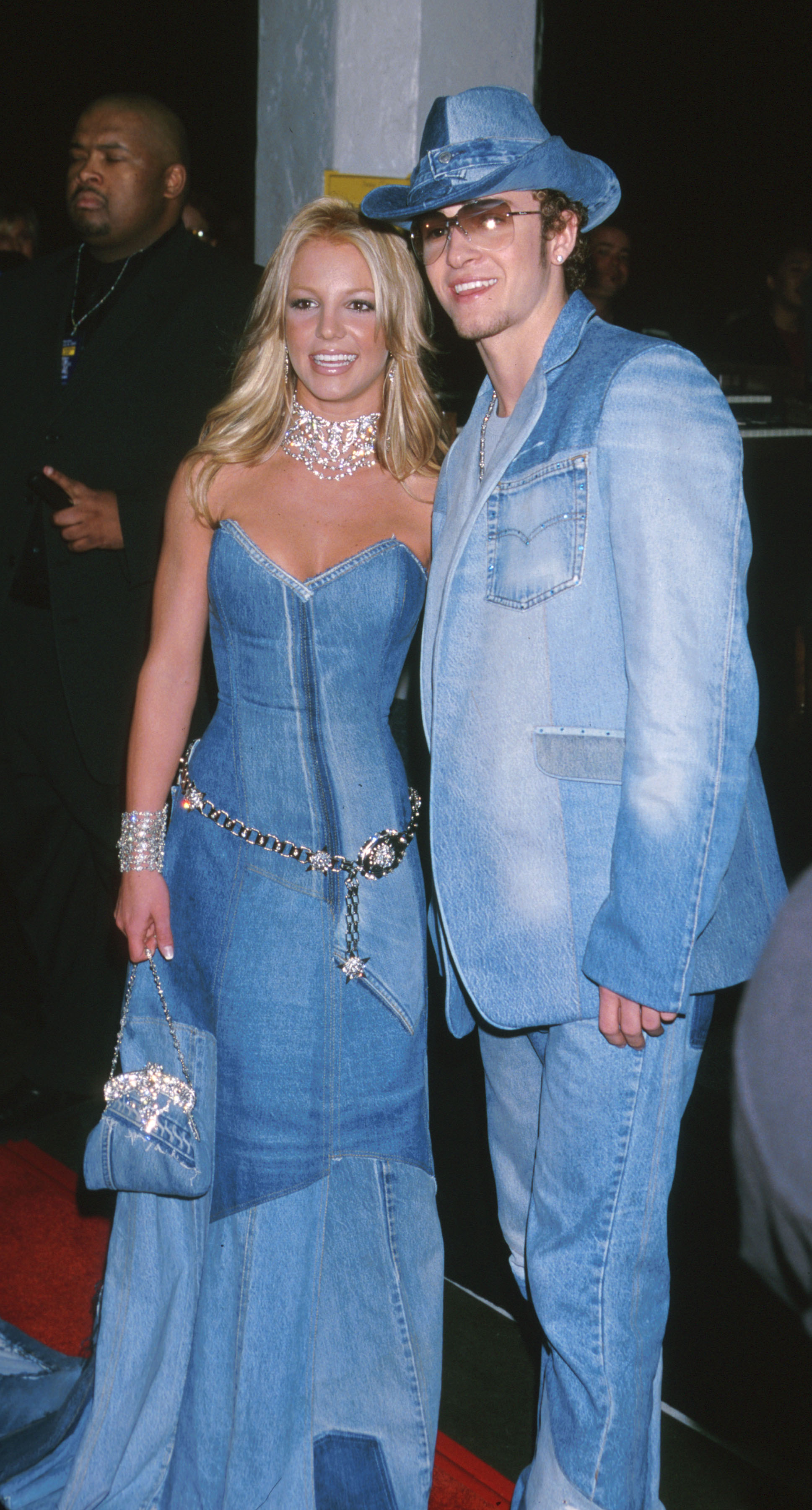 Britney Spears and Justin Timberlake at the 28th Annual American Music Awards in 2001.