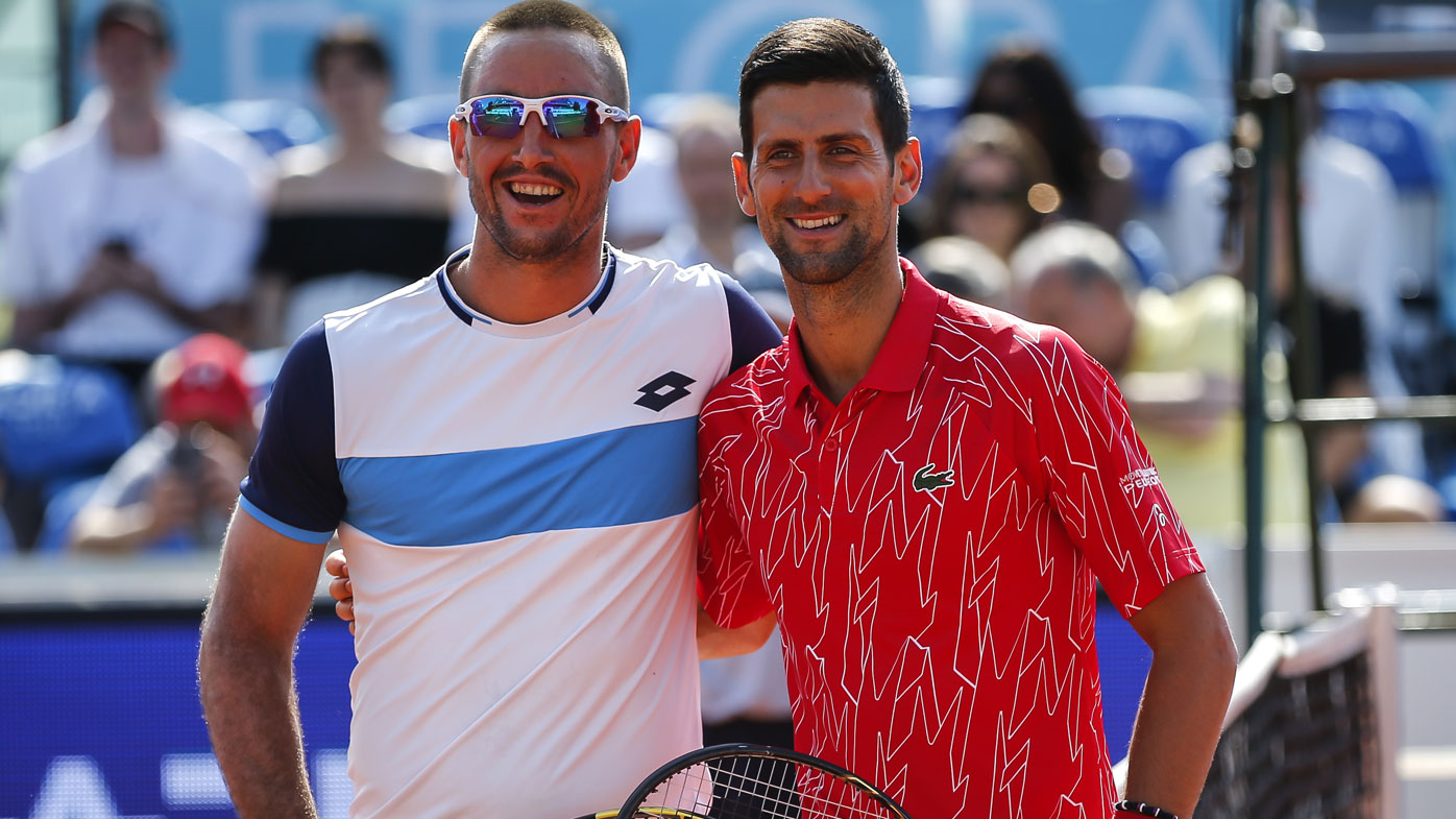 Novak Djokovic Adria Tour Shocking Request To Fans In Packed Stadiums Covid 19 Victims